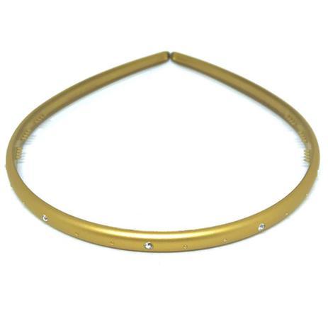 Imagem de Finestra Tiara Fina Dourada Fosco N557FD/5S 0,7cm
