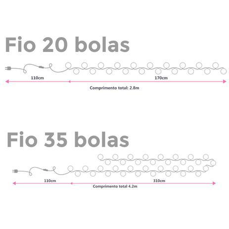 Menor preço em Fio avulso 35 bolas 110V - Cormilu