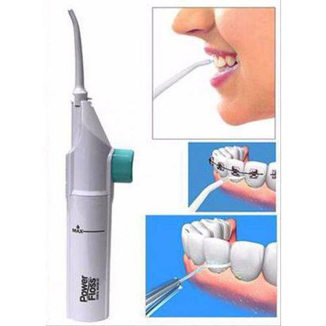 aca77c2ae Fio Dental De Água Portátil Manual Waterpik Power Floss - Asotv ...