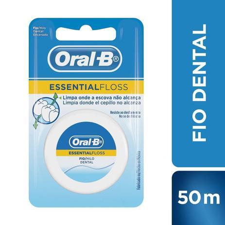 830a54c3f Fio Dental Oral-b Essential Floss Encerado 50m - Fio Dental ...