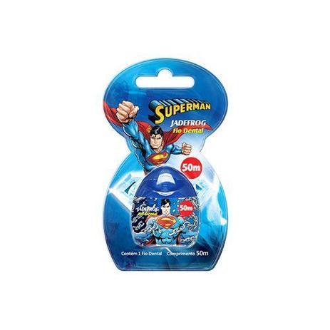 736b16ae1 Fio Dental Superman 50 Metros - Jade - Fio Dental Infantil ...