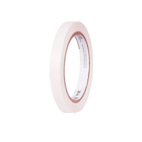 Imagem de Fita Adesiva de Papel Tissue Branco Dupla Face em Rolo