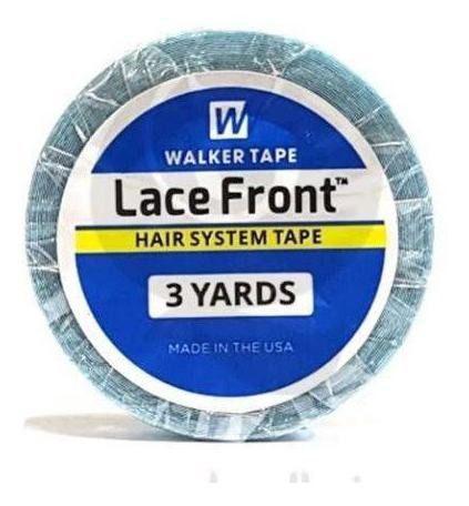 Imagem de Fita adesiva lace front, perucas e mega hair 3 metros walker tape