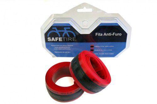 Imagem de Fita Anti-furo Vermelha 31mm X 2,10m P/pneu 26