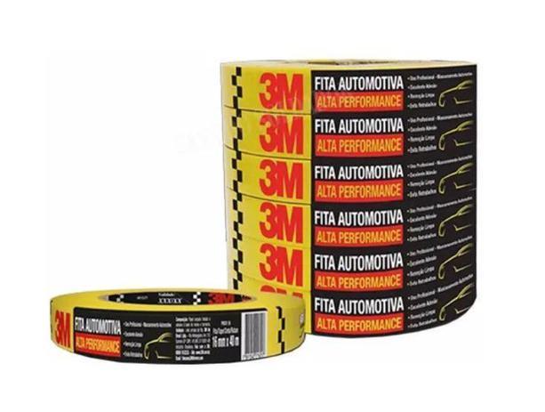 Imagem de Fita Crepe Amarela Alta Performance 18mmx40M HC000660494