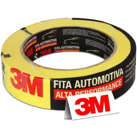 Imagem de Fita Crepe Automotiva 3M Alta Performance 18mm x 40m C/ 1