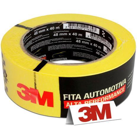 Imagem de Fita Crepe Automotiva 3M Alta Performance 48mm x 40m C/ 1