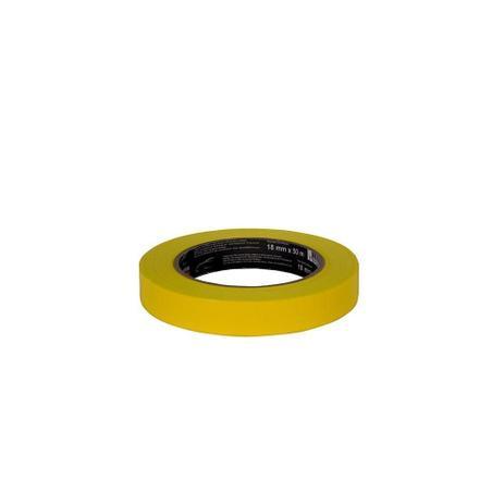 Imagem de Fita Crepe Automotiva Amarela Alta Performance 18mmx40m 12x1 - 3M