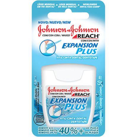 1de2c32cb Fita Dental Johnson Johnson Reach Expansion Plus 50 metros Unidade - Jonhson