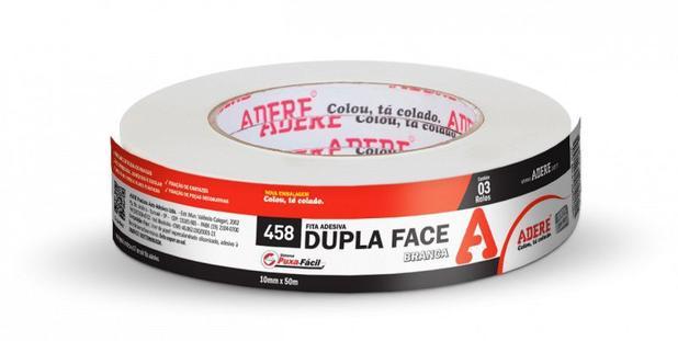 Imagem de Fita Dupla Face de Papel 22mm x 10m 458 Adere