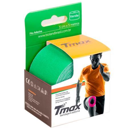 Fita Kinésio Bandagem Adesiva Tmax - Verde - Bioland - Bandagem ... 9dae2f2c6ebb6
