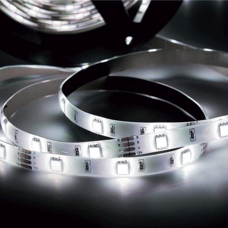 Menor preço em Fita LED 2,5W 30 LEDs/metro 3m 12V IP20 Taschibra Branco