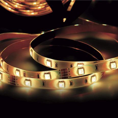 Menor preço em Fita LED 2,5W 30 LEDs/metro 40m 12V IP20 Taschibra 3000K Luz Amarela