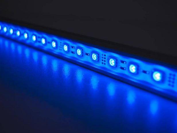 Imagem de Fita LED 3528 Azul 5 Metros IP65 - À prova dágua - 24W
