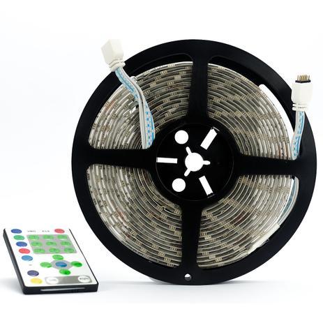 Menor preço em Fita LED Auto Adesivas SMD-5050 RGB 60/M - 5 metros - Outras