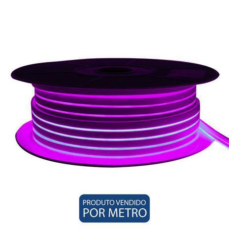 Imagem de Fita LED Neon Rosa 12V 30W IP65 Eletrorastro