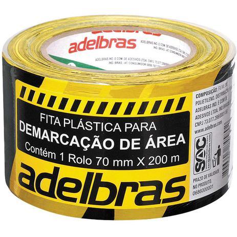 Imagem de Fita para Demarcacao de Area Zebrada RC 70 MMX200MX0,04MM