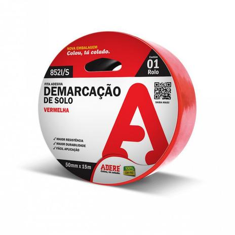 Imagem de Fita para Demarcação Solo Adere 50mmX15m