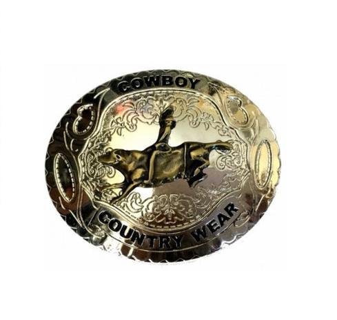 Fivela Country Wear Ouro Velho - Cintos exclusivos - Cinto ... 5b7937cbbda
