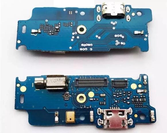 Imagem de Flex Placa Conector de Carga Motorola Moto E4 Xt1763