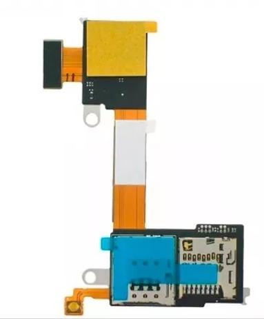 Flex Slot Sim Card Cartao Memoria Xperia M2 / M2 Aqua D2303 D2305 D23061  Chip - Sony