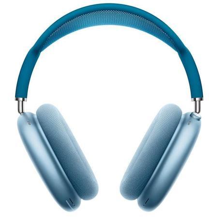 Imagem de Fone de Ouvido Apple AirPods Max, Bluetooth, Over the Ear, Azul-Céu