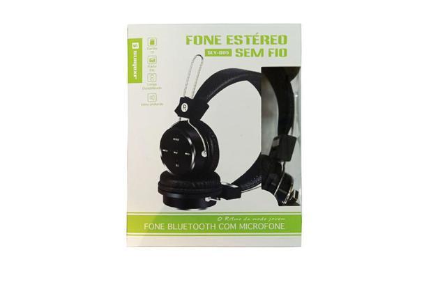 Imagem de Fone de Ouvido Arco Headphone Bluetooth c/ Microfone Sumexr (SLY-B05)