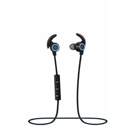 6a1a2ea34 Fone de Ouvido Bluetooth SPORT AMW-810 Azul Atende Ligação - Xtrad ...