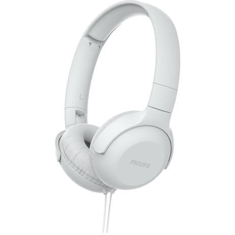 Imagem de Fone de Ouvido com Microfone Philips TAUH201WT/00 Branco