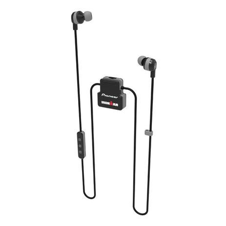 Imagem de Fone de Ouvido Esportivo Bluetooth Intra-Auricular Pioneer SE-IM5BT-H - com Microfone - Resistente a