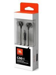 Imagem de Fone de Ouvido In-Ear c/ Microfone JBL Harman C50HI Preto