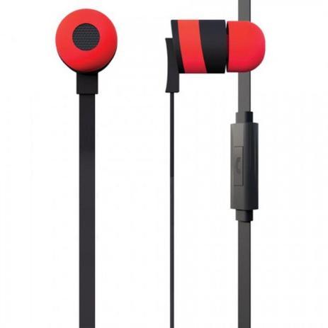 Imagem de Fone de Ouvido Intra Auricular Vermelho
