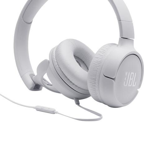 Imagem de Fone de Ouvido JBL Tune 500 Branco JBLT500WHT