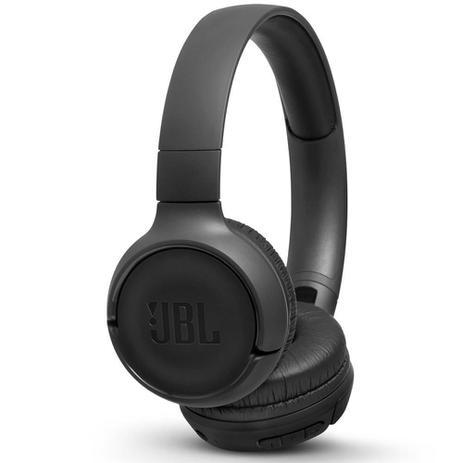 Imagem de Fone de Ouvido JBL Tune 500BT Preto Sem fio Bluetooth Pure Bass Com Microfone Controle JBLT500BTBLK
