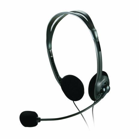 Imagem de Fone De Ouvido Multilaser Headset Stereo Com Fio 32 Ohms Preto P2 - PH002