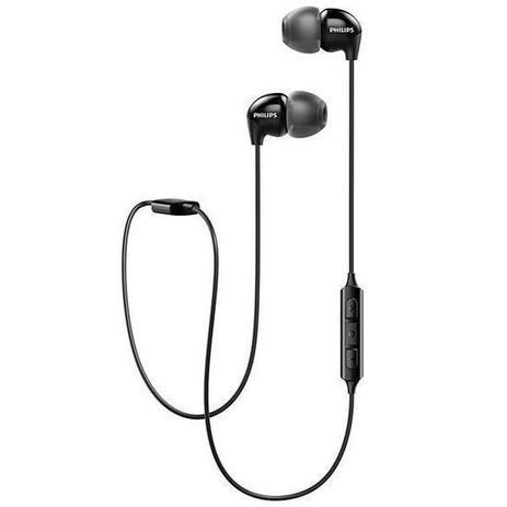 Imagem de Fone de Ouvido Philips In-ear Bluetooth SHB-3595BK Preto