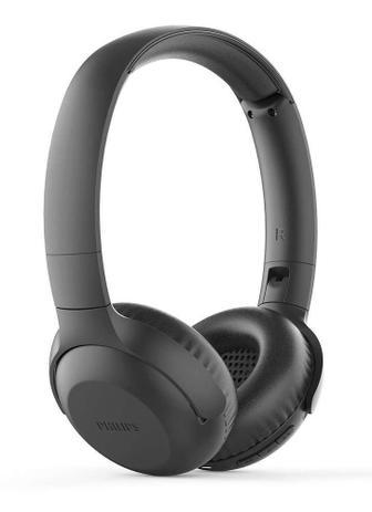 Imagem de Fone de Ouvido Philips TAUH202 Bluetooth Preto Headphone Headset Sem Fio com Microfone TAUH202BK/00