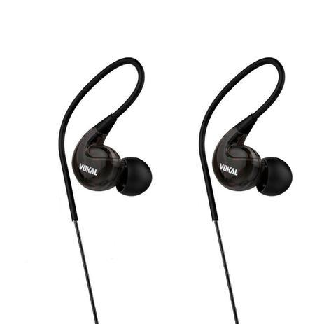 Imagem de Fone de Ouvido Retorno Vokal E40 Preto Monitor In Ear