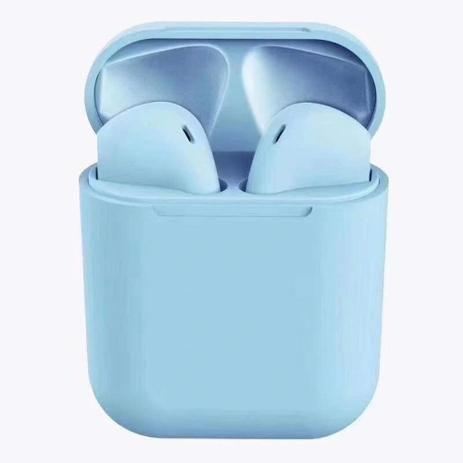 Imagem de Fone de ouvido sem fio i12 TWS preto Bluetooth