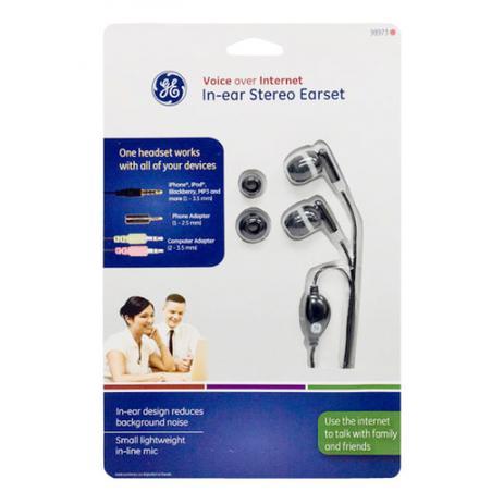 Imagem de Fone de ouvido tipo earphone VOIP para iPhone + Telefone + PC
