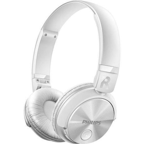 Imagem de Fone de Ouvido Wireless Bluetooth com Microfone Embutido SHB3060WT/00 Branco - Philips