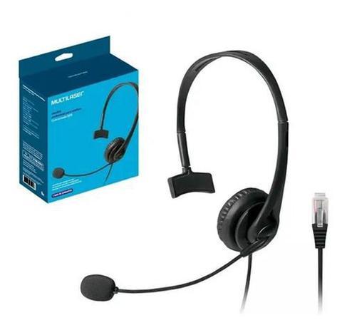 Imagem de Fone Headset Atendimento Telemarketing Call Center Rj09