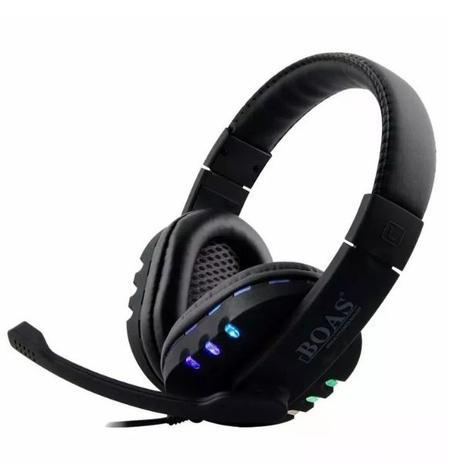 Imagem de Fone Headset Gamer Notebook Usb Led Pc Ps3 Ps4  Boas Bq9700