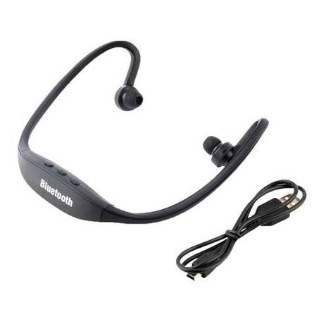 820134812c3 Fone Ouvido Preto Headset Bluetooth S9 Galaxy Iphone Lg - Naik ...
