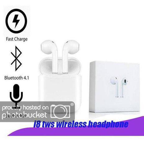 Imagem de Fone Ouvido Sem Fio Bluetooth TWS HBQ i8wts para iPhone Samsung Motorola