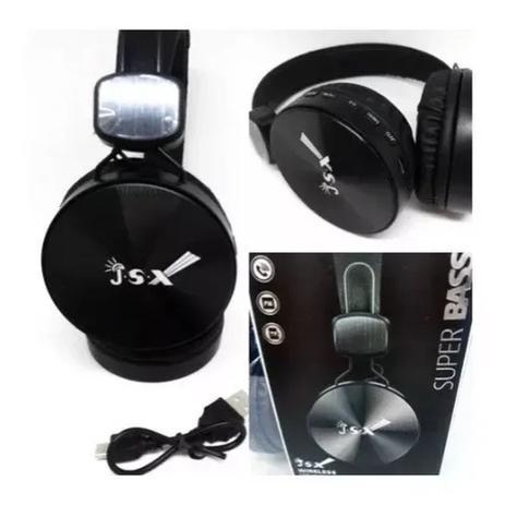 Imagem de Fone Ouvido Stereo Wireless Bluetooth Fm Mp3 Atende Chamadas JSX-BT008