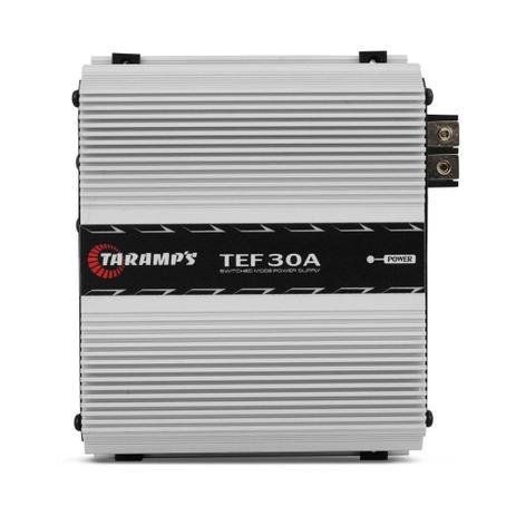 Imagem de Fonte Automotiva Taramps TEF30 30A 216W Carregador de Bateria Bivolt Automático