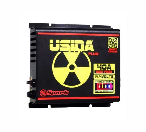 Imagem de Fonte Automotiva Usina 40a Battery Meter Carregador Bateria