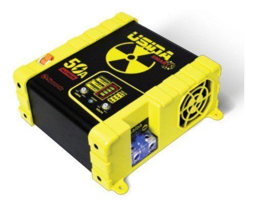 Imagem de Fonte Carregador Bateria Usina Spark 50a 12v Battery Meter