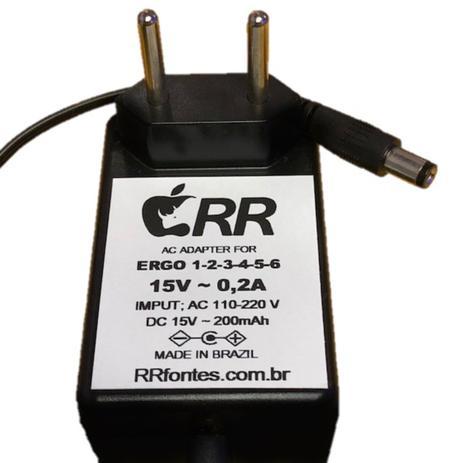 Imagem de Fonte de alimentação 15V para aspirador de pó Eletrolux modelo Ergo 6